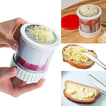 Gaddrt cuisiniers Innovations – Molinillo de mantequilla rallador Panificadora liso crema verduras maíz rallador
