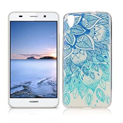 Amazon.com: OuDu Silicone Case for Huawei Y6 II/Y6 2 Soft ...