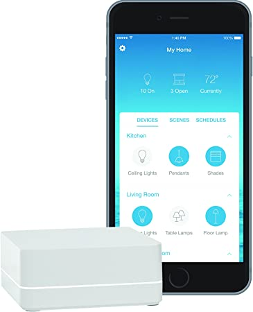 Lutron Caseta Wireless Smart Lighting Lamp Dimmer PD-3PCL-WH with Remote NEW