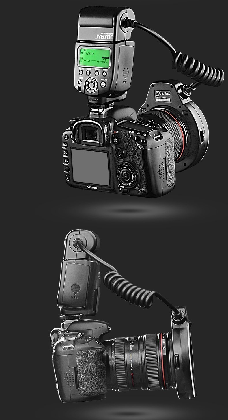 Av Cable para Canon 7D 60D 60Da 70D 600D 650D 700D 001a