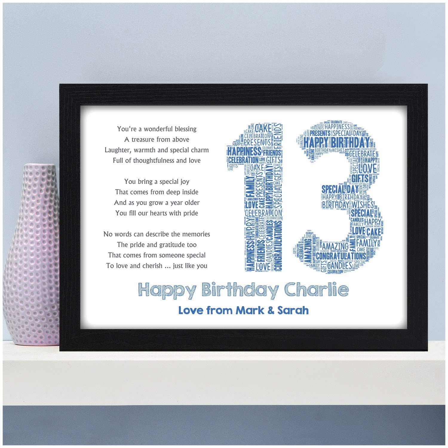 Personalised Big Brother Big Sister Birthday Christmas Present Gift !!ANY NAME!!