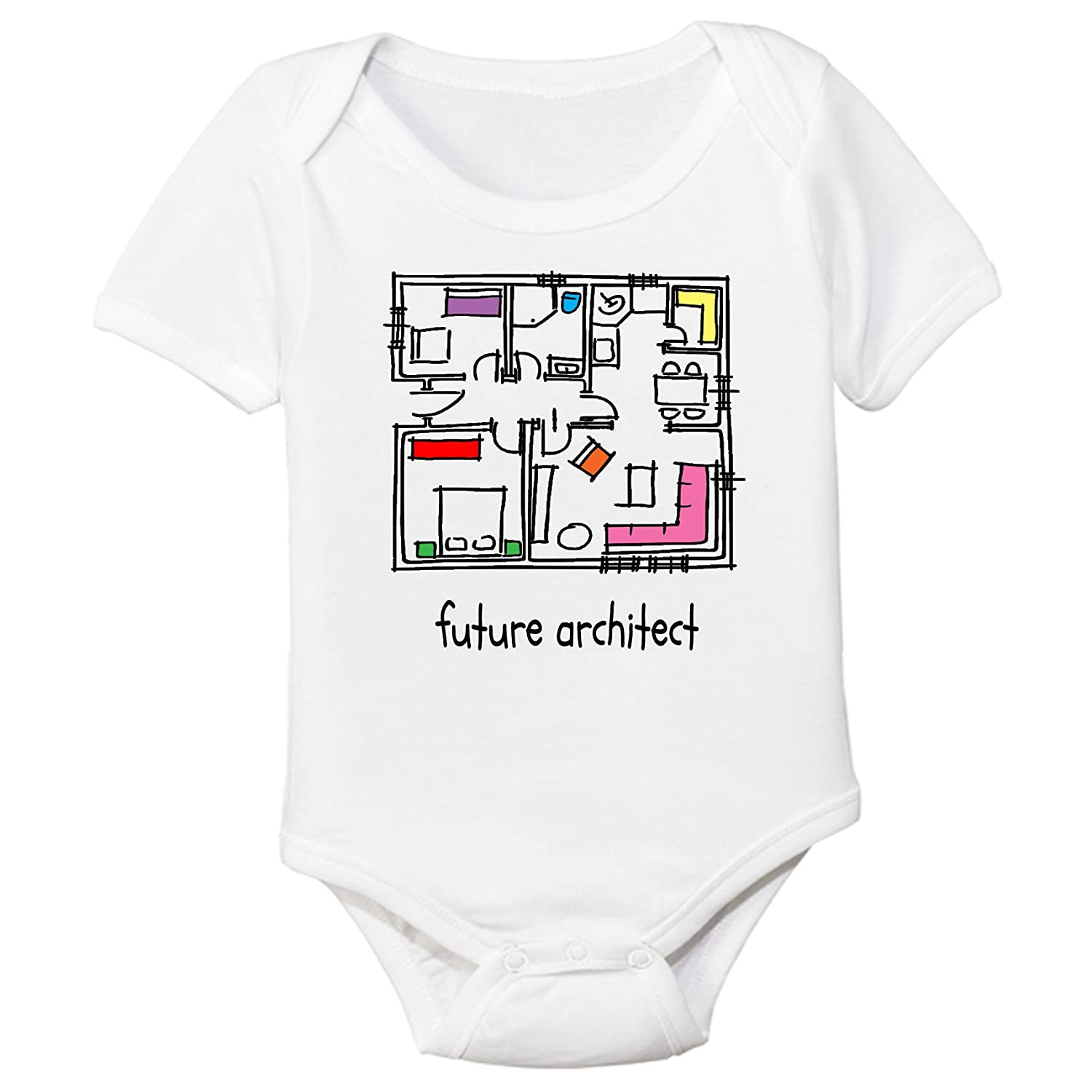 2ae387c92 Amazon.com  The Spunky Stork Future Architect Organic Cotton Baby ...