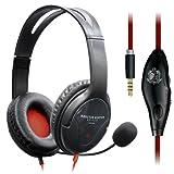 エレコム×モンスターハンター:ワールド コラボ 4極ヘッドセットマイク 両耳オーバーヘット 1.0m PS4専用 ブラック HS-MHW02BK