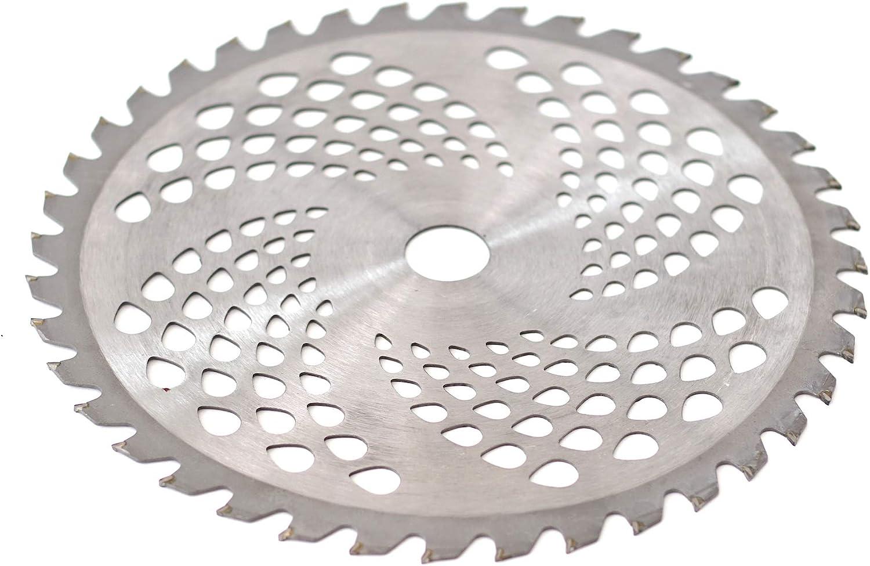 Hochwertiges Qualit/äts Hartmetall Kreiss/ägeblatt S/ägeblatt f/ür Motorsensen Freischneider 255x25,4mm 40 Z/ähne