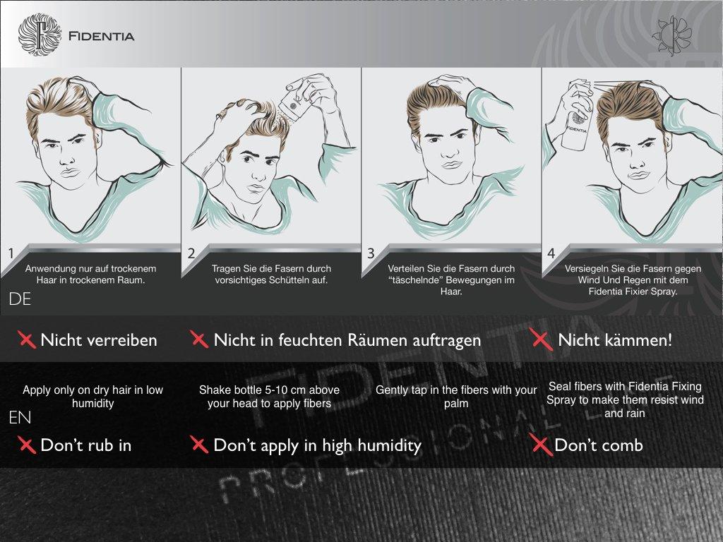 Fidentia Hair Microfibras Capilares Queratina en Polvo 40g - Rubio Medio: Amazon.es: Belleza