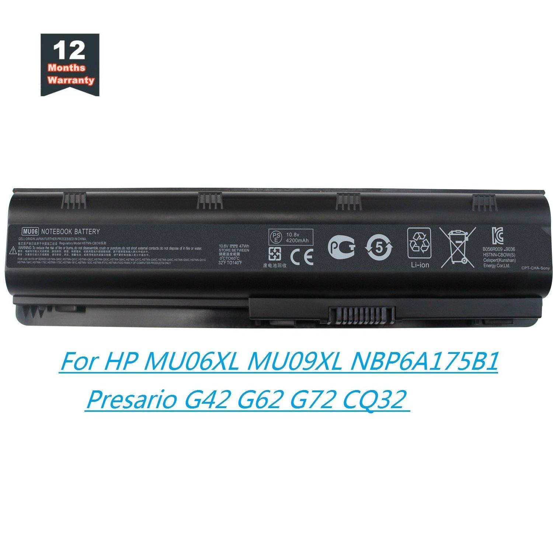 Bateria Mu06 Mu09 Para Hp Pavilion G4 G6 G7 G32 G42 G56 G62 G72 Dm4 Dv3 Dv5 Dv6 Dv7 Compaq Presario Cq42 Cq43 Cq56 Cq62