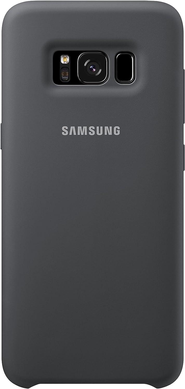 Samsung Dream Silicone Cover, Funda para smartphone Samsung Galaxy S8, Gris: Amazon.es: Electrónica