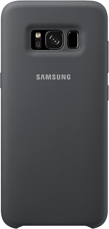 Samsung Dream Silicone Cover, Funda para smartphone Samsung Galaxy S8, Gris