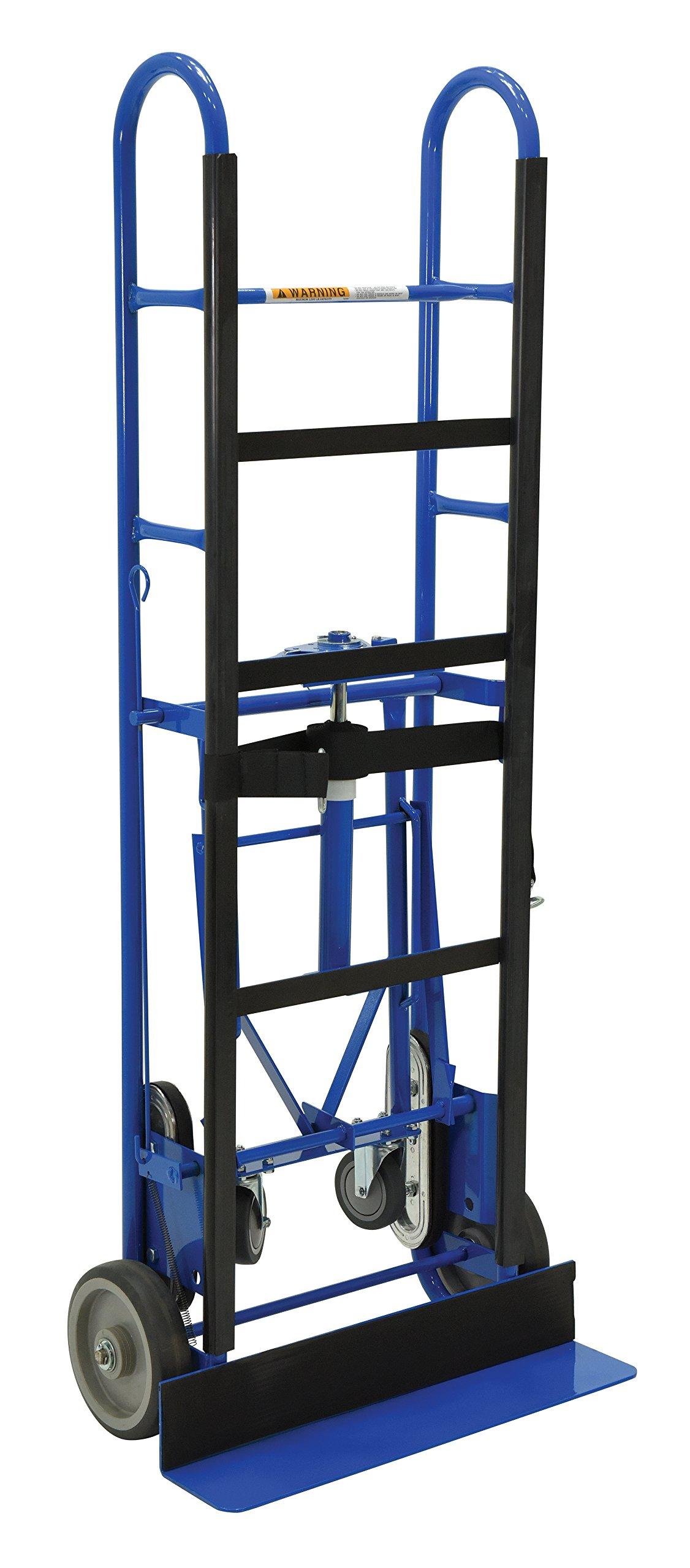 Vestil APPL-1200-60 Vending Machine/Appliance Cart, Ratchet 1200 lb. lb. Capacity, 15'' Length, 24'' Width, 60'' Height