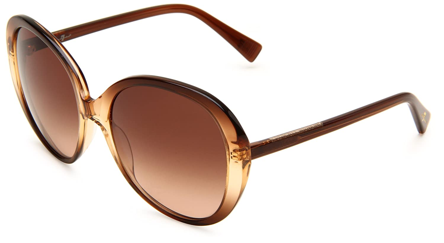 7 For All Mankind Magnolia Round Sunglasses