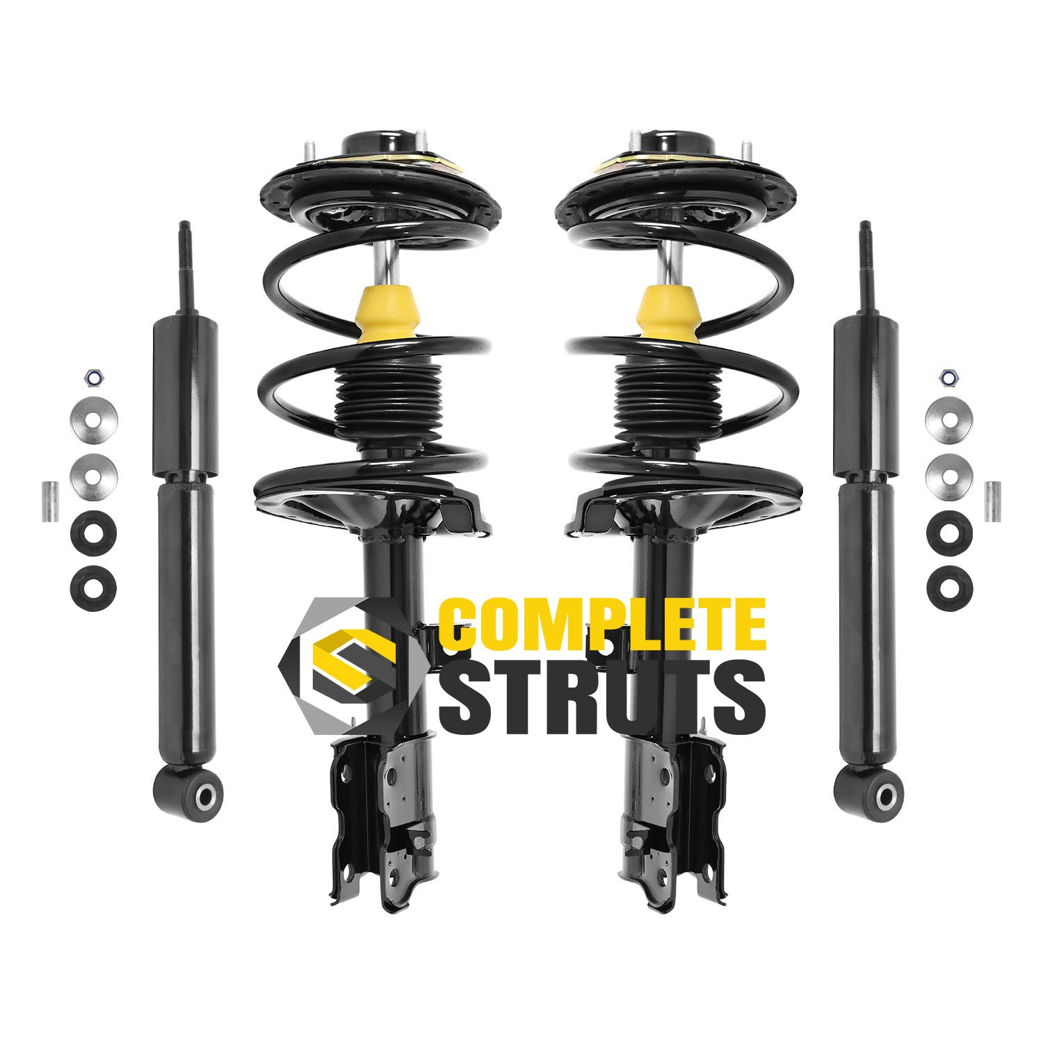 For Nissan Murano 2003-2007 Front Complete Coil Spring Struts Absorbers Assembly