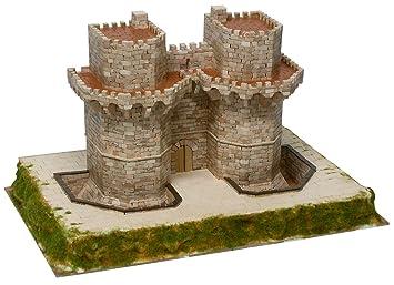 MAQUETA TORRES DE SERRANO, VALENCIA SIGLO XIV, AEDESARS_1251