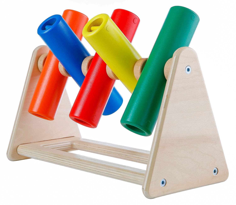 KINGDOM SECRET Jingle Flip Fingers Wooden Sensory Toy. SEN and Autism