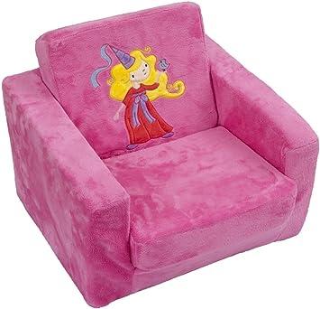Bieco 04 000304 Kinder Sessel Prinzessin Schlafsessel Amazon De