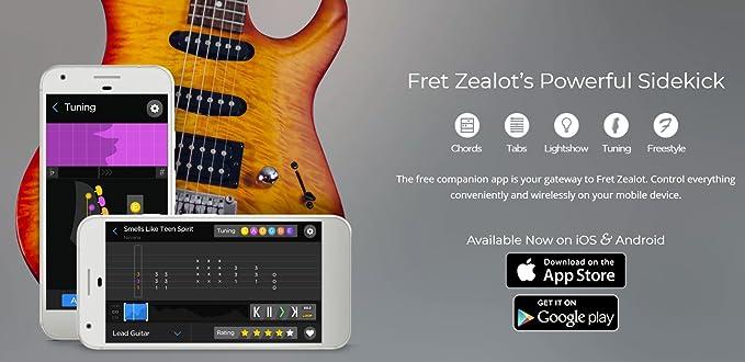 Fret Zealot FZ-G15 - Guitarra LED
