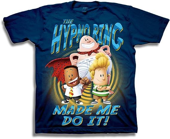 Captain Underpants Boys Short Sleeve T-Shirt T-Shirt