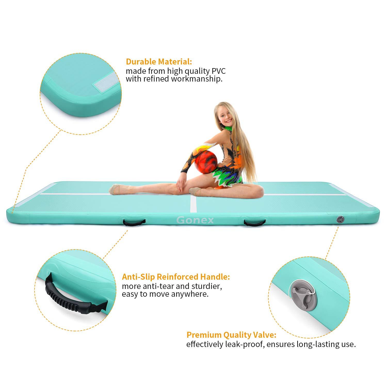 Amazon.com: Gonex - Colchoneta hinchable para gimnasia con ...