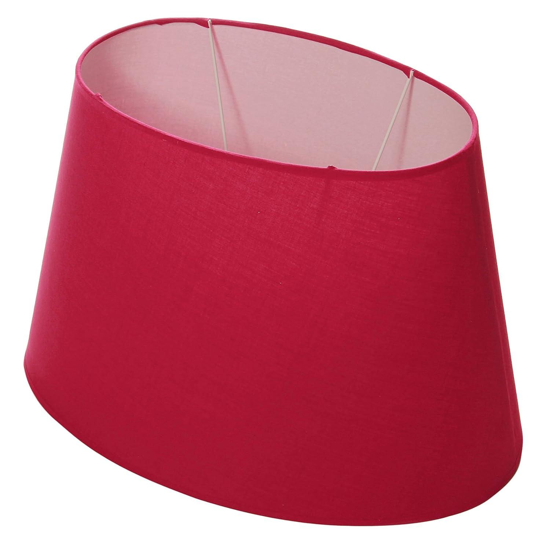Lumissima Abat-jour ovale rouge 91858