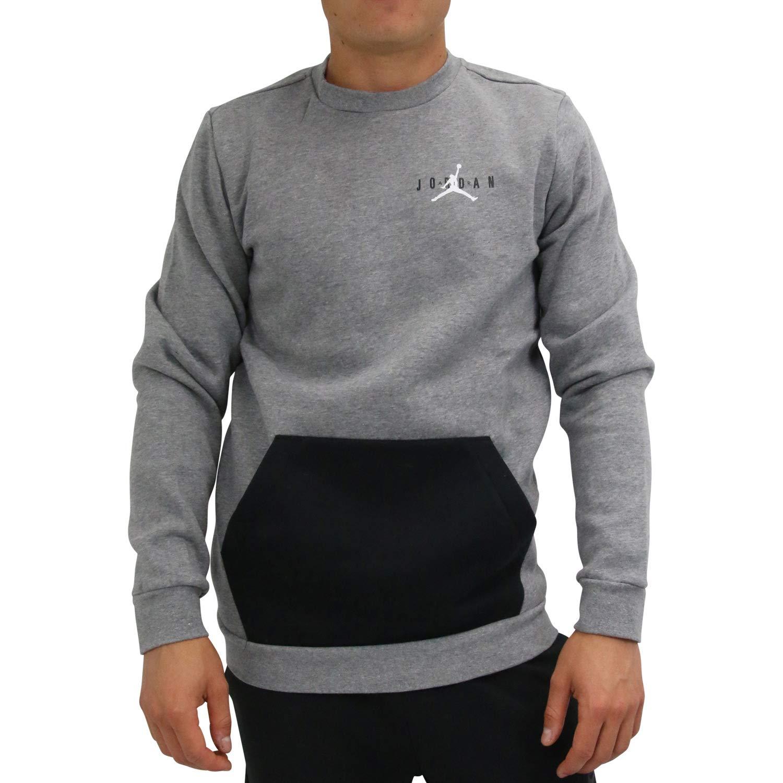 TALLA S. Nike Jumpman Air Fleece Crew suéter, Hombre
