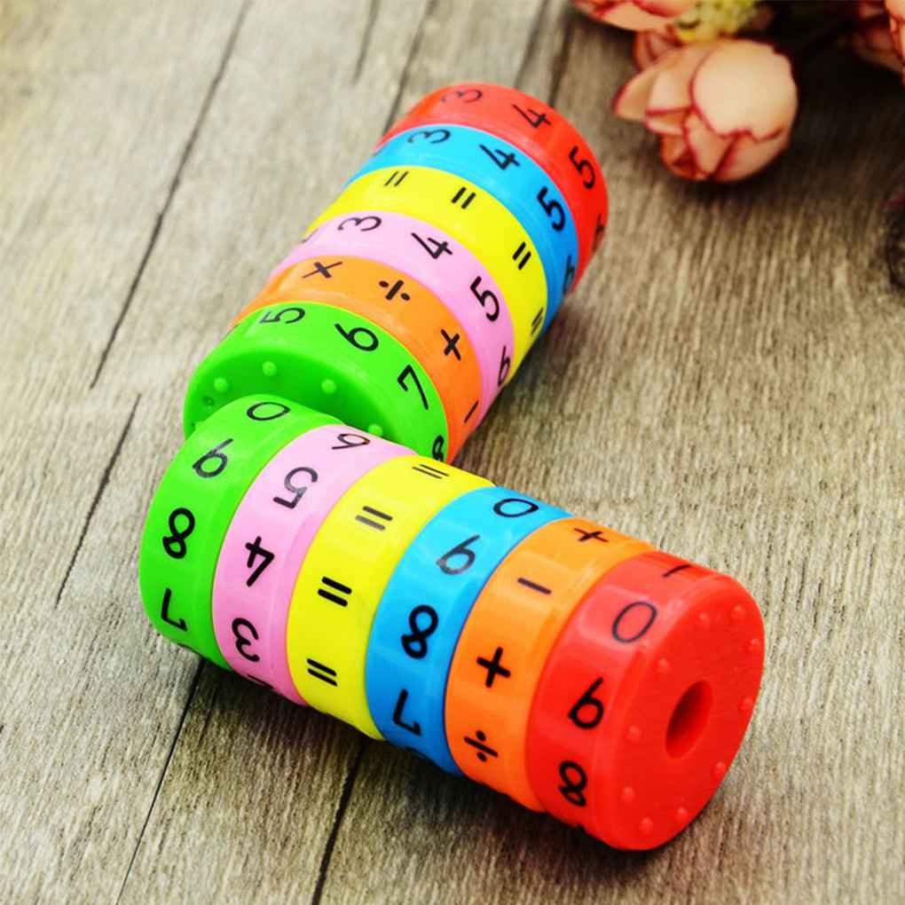 Uokoki Lapprentissage des math/ématiques magn/étique Nombres Cylindre Jouets Maternelle Jouets /éducatifs Intelligence Arithm/étique