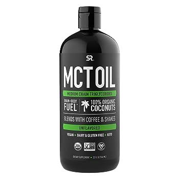 Sports Research Premium MCT 32-oz Coconut Oil