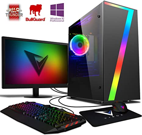 Vibox Pyro GS450-100 Gaming PC Ordenador de sobremesa con 2 Juegos ...
