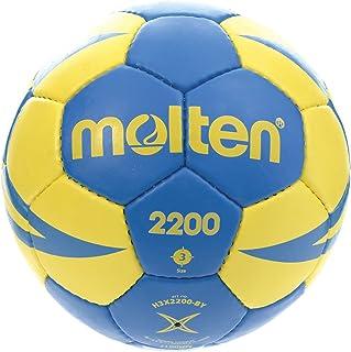 Molten H3X 2200Balles de by Main Messieurs, Bleu, Jaune, 3