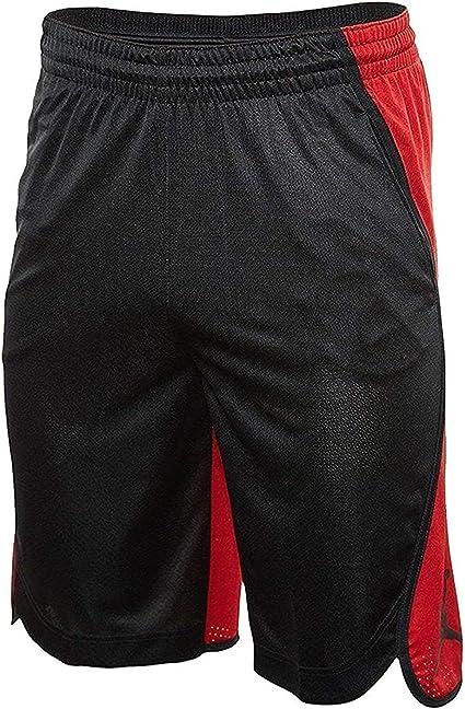 Despido Unión sensibilidad  Amazon.com: Nike Men 's Air Jordan Flight pantalones cortos de baloncesto  negro rojo aa5581 011, M, Negro/Rojo Blanco: Clothing
