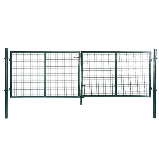3 opinioni per Songmics Cancelletto Giardino 100 x 315 cm Cancello Pedonale Barriera Modulabile