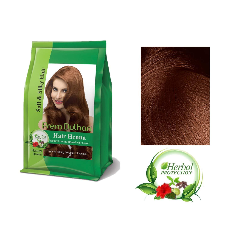 Buy Prem Dulhan Hair Henna Natural Henna Based Hair Color(Natural ...