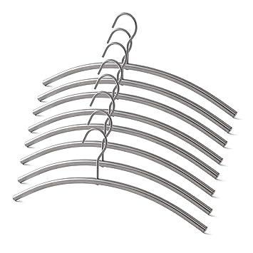 8 X Metall Kleiderbugel Mit Festem Hacken Garderobenbugel 8er Set