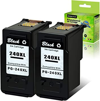 1 PK PG240XL PG-240XL Black INK For Canon PIXMA MG2120 MX472 MX372 MG3122 MG3122