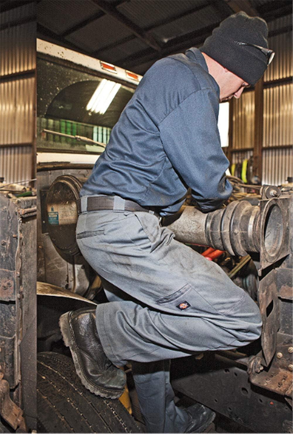 Dickies Men's Loose Fit Double Knee Work Pant: Clothing