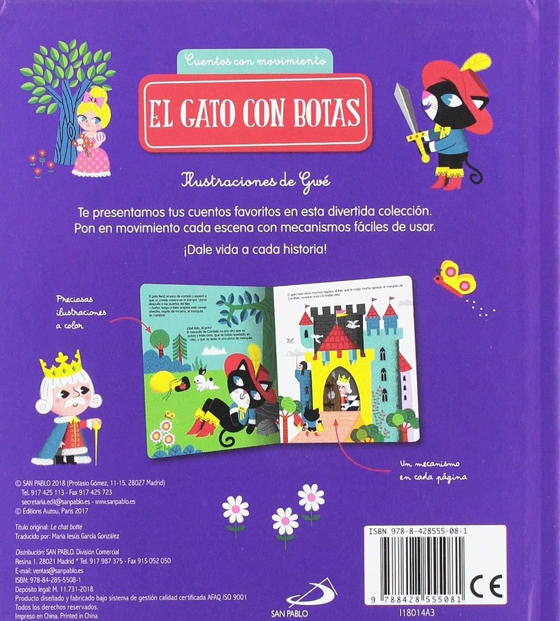 El gato con botas: VV.AA.: 9788428555081: Amazon.com: Books