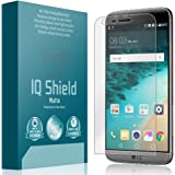 LG G5 Screen Protector Anti-Glare [Full Coverage], IQ Shield Matte Replacements - Premium Bubble-Free HD Film with Anti-Fingerprint Coating