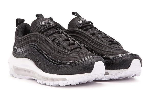 sports shoes dd428 53181 Amazon.com   Nike Air Max 97 Premium Women (9.5) Black White   Track   Field    Cross Country
