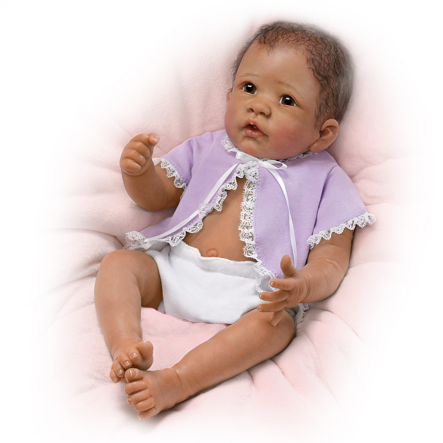 Linda Murray So Truly Real Poseable Newborn Baby Girl Doll by The Ashton-Drake Galleries by The Ashton-Drake Galleries