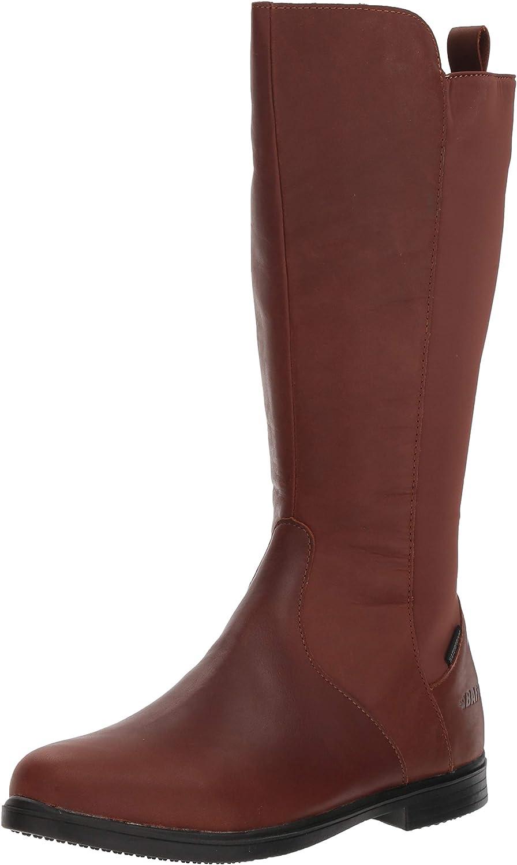 Baffin Stratford- Women's All Season, Waterproof/High-Grip, Knee-Height Zip Leather Boot