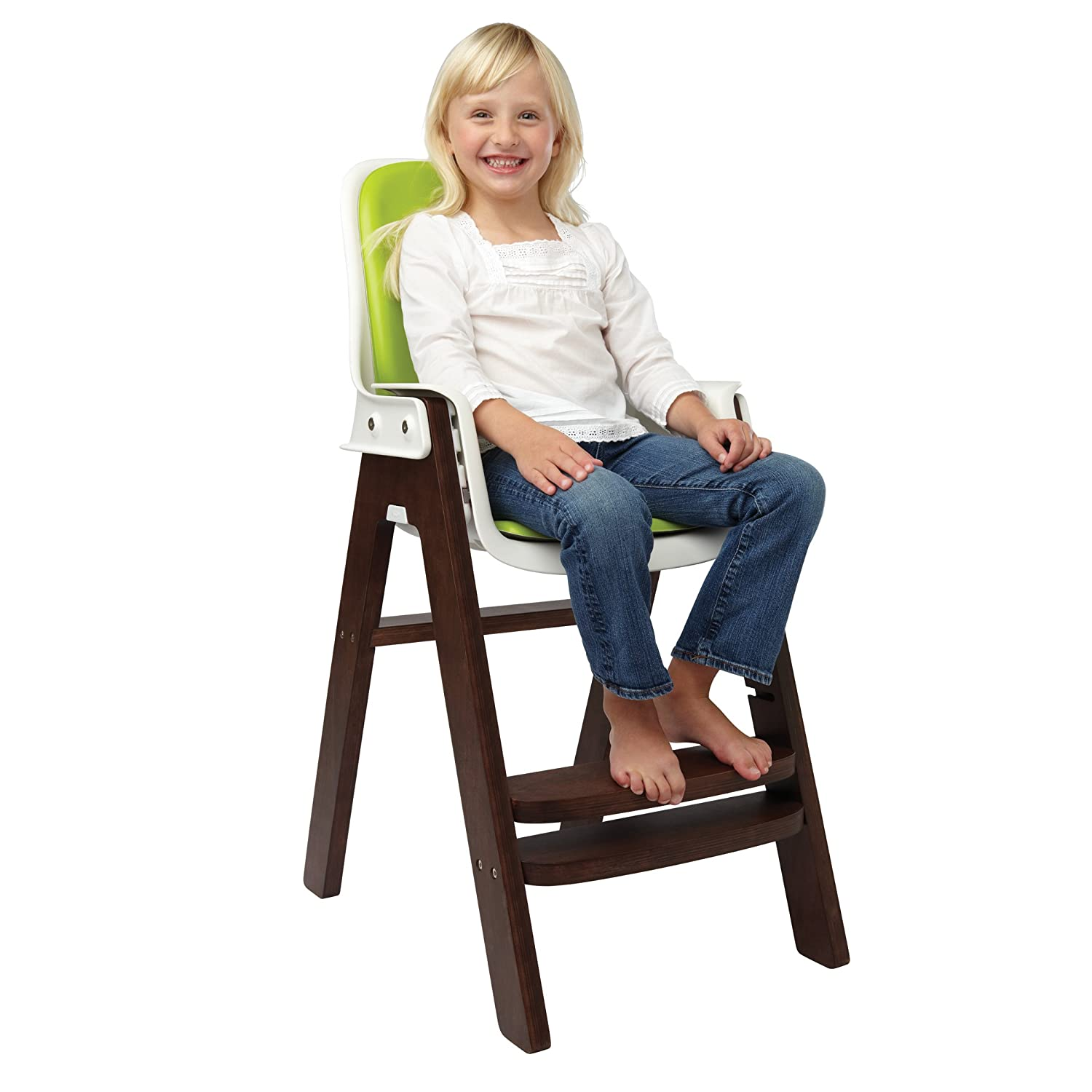 oxo tot sprout highchair (greenwalnut) amazoncouk baby -