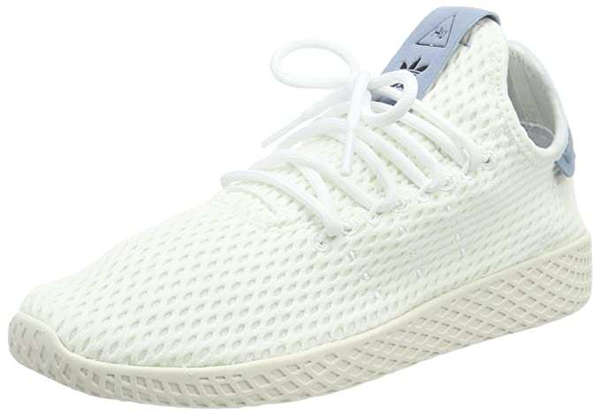 8360a30e9 Image Unavailable. Image not available for. Color  Adidas Pharrell Williams  Tennis Hu Mens Sneakers White