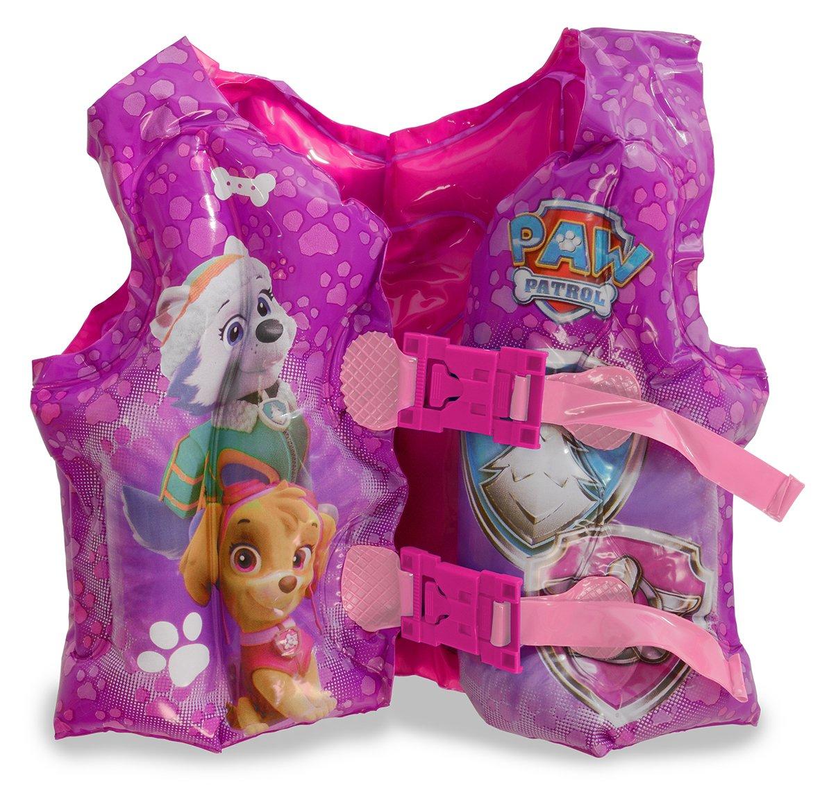 Patrulla Canina - Chaleco Hinchable para niña (Saica 2214): Amazon ...