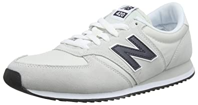 best sneakers 60b7f 15e2d New Balance U-420, Baskets Homme, Blanc (Nimbus Cloud Outerspace Mnc