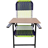 Dhavesai Folding Chair with Strong Square Handle and Free 6mm pad