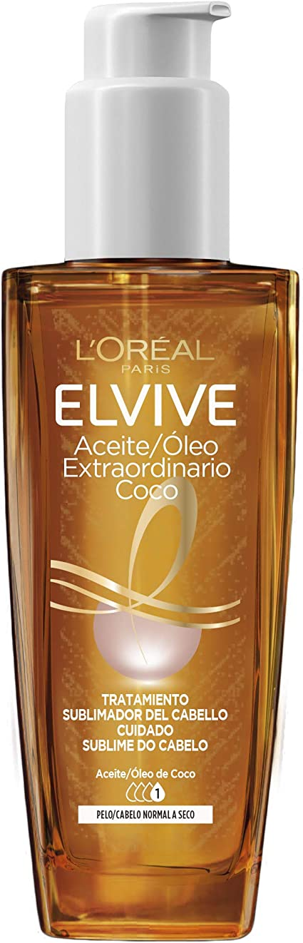 Oferta amazon: L'Oreal Paris - Elvive Aceite Extraordinario de Coco,100 ml