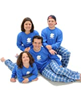 "Polar Bear ""I Need a Snowday"" Family Winter Pajama Sets for Adults; Matching Playwear for Kids"