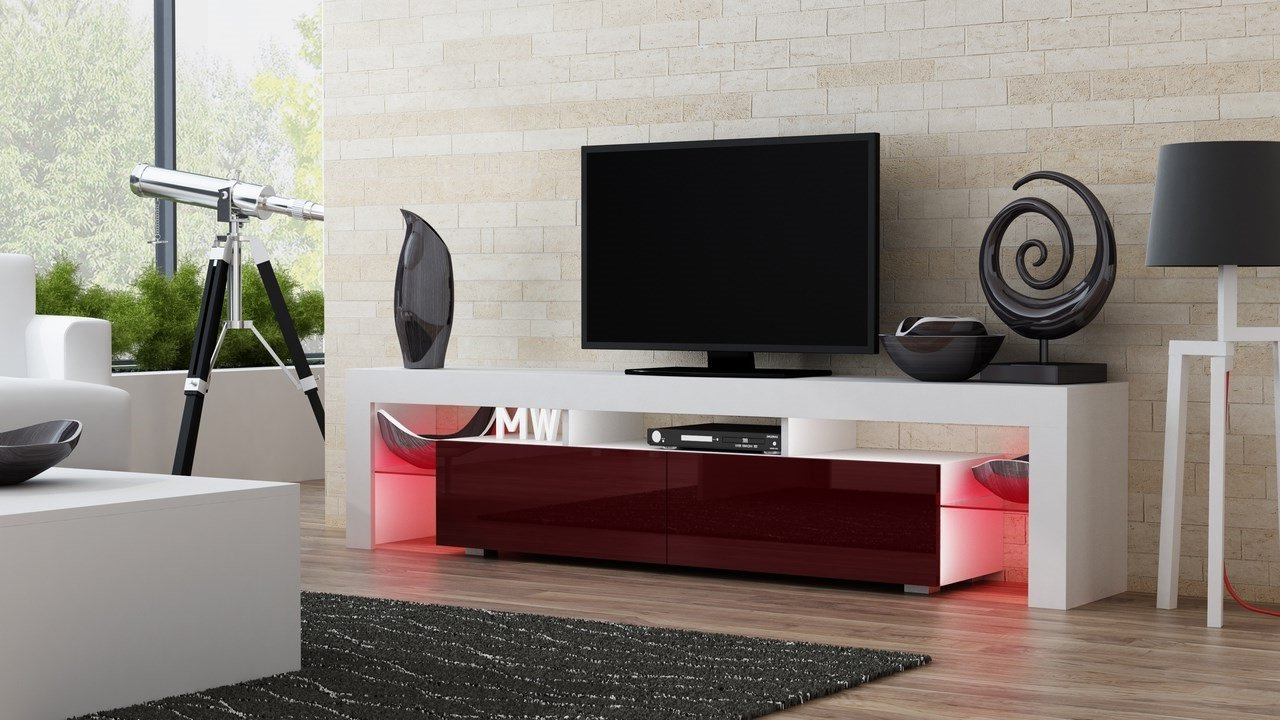 Amazon TV Stand MILANO 200 Modern LED Cabinet Living Room