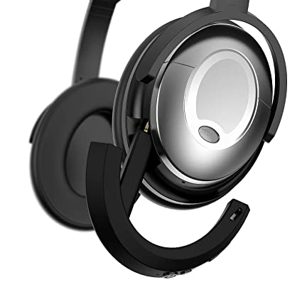 Adaptador inalámbrico Bluetooth Bose QuietComfort 15 Auriculares, MASCARRY Negro Bluetooth 4.1 Receptor Bose QC 15