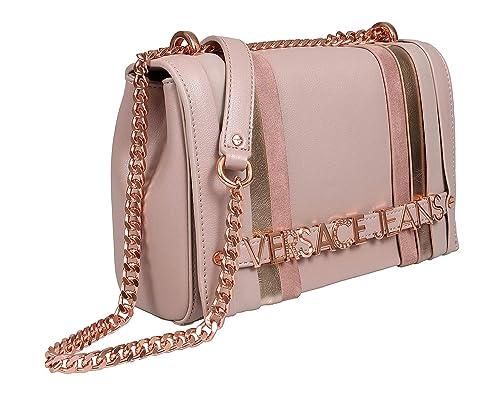 disponibilità nel Regno Unito 8464f d745d Versace Jeans Borsa tracolla E1VTBBL1 723 rosa: Amazon.it ...