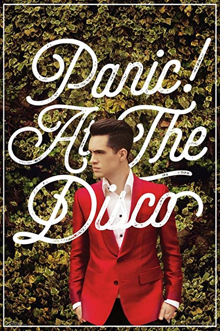 Scorpio Posters Panic At The Disco Green Ivy Red Suit Poster In