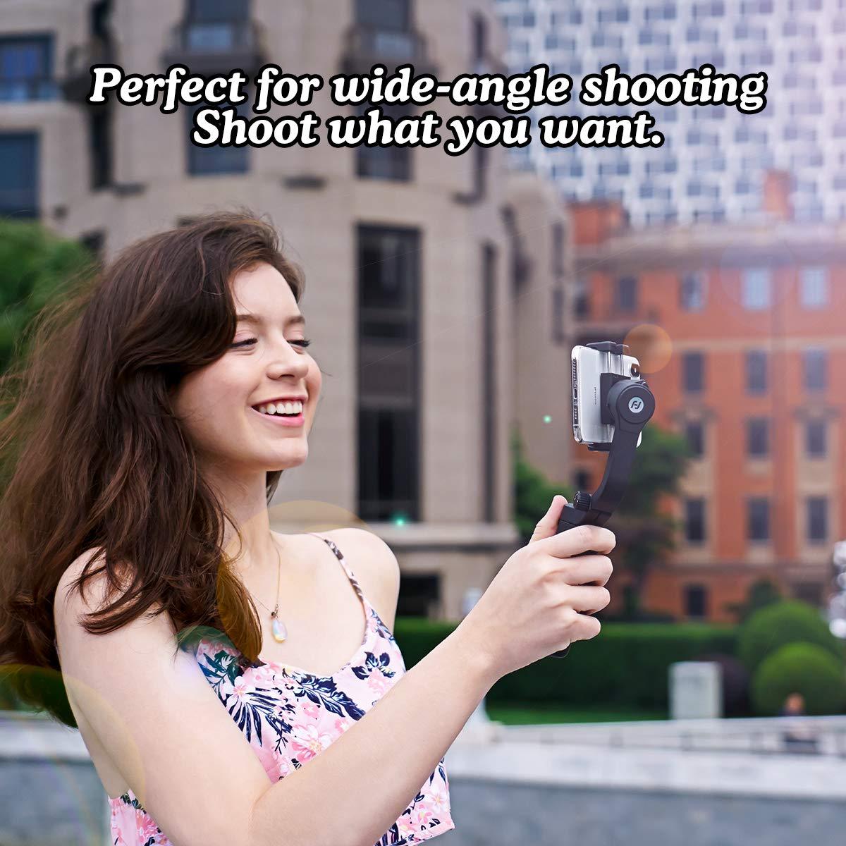 orizzontale verticale Shot pieghevole Gimbal palmare stabilizzatore palmare Gimbal Stabilizzatore FeiyuTech 3 Axis VLOG pocket smartphone cardanico inseguimento delloggetto